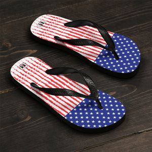 Stars and Stripes Flip-Flops