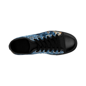 Cream Blue Rust Women's Sneakers