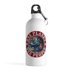One Planet, One People. Valentino UnlimitedStainless Steel Water Bottle - Valentino Unlimited