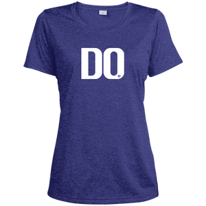 DO LST360 Sport-Tek Ladies' Heather Dri-Fit Moisture-Wicking T-Shirt
