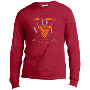 VUO Bull and Crossed Arrows LS Made in the US T-Shirt - Valentino Unlimited