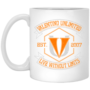 DSXP8434 11 oz. White Mug - Valentino Unlimited