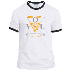 VUO Bull and Crossed Arrows Ringer Tee - Valentino Unlimited