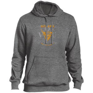 VUO Bull and Crossed Arrows Tall Pullover Hoodie - Valentino Unlimited