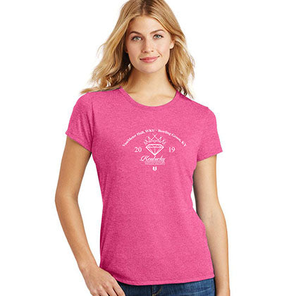 Miss Kentucky United States 2019 Heather Pink Ladies Tee