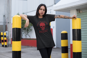 This is NOT Acceptable Resist Skull Short-Sleeve Unisex T-Shirt