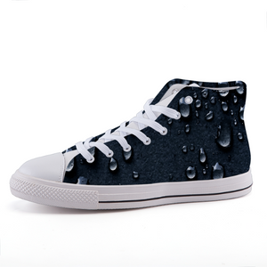 Asphalt Rain High-top fashion canvas shoes