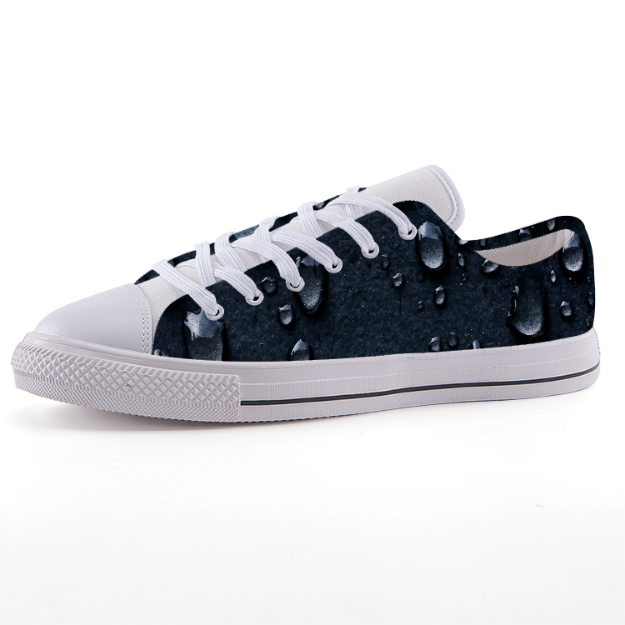 Asphalt Rain Low-top fashion canvas shoes
