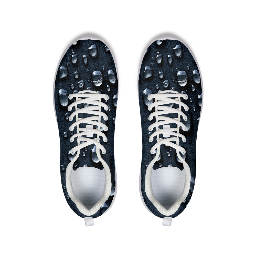 Asphalt Raindrops Athletic Shoe
