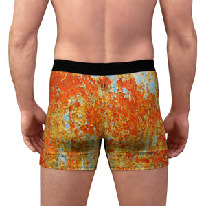 VALENTINO UNLIMITED Light Blue Rust Men's Boxer Briefs - Valentino Unlimited