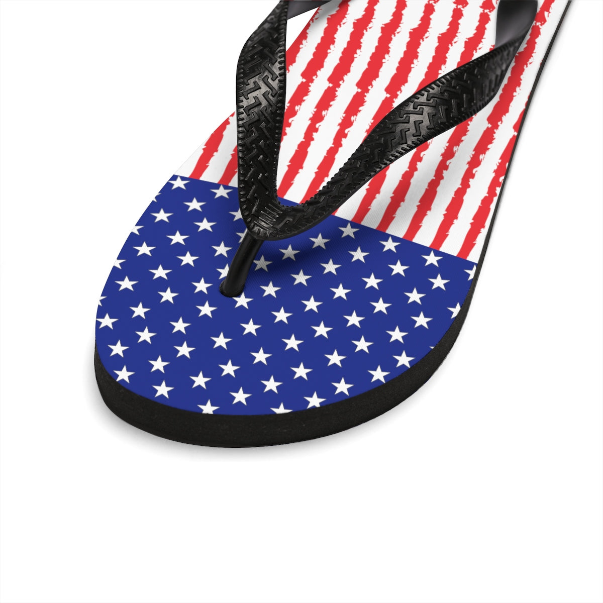 Stars and Stripes Unisex Flip-Flops - Valentino Unlimited