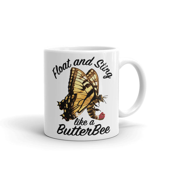 Float and Sting like a ButterBee Mug