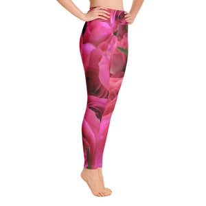Roses Yoga Leggings - Valentino Unlimited