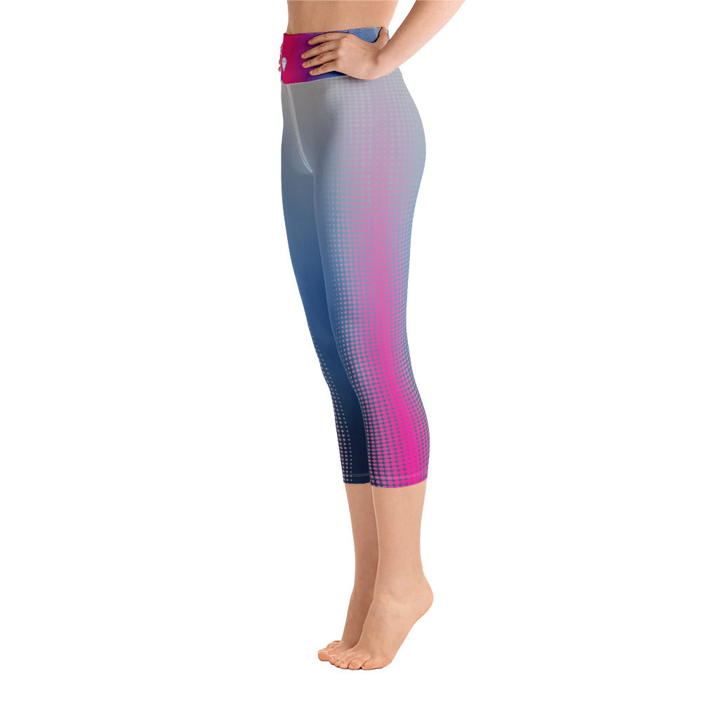 Miss Georgia United States 2019 Pageant Custom Yoga Capri Leggings - Valentino Unlimited