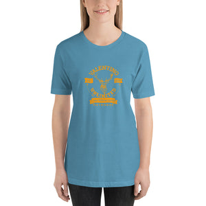 VUO Stag and Banners Short-Sleeve Unisex T-Shirt (Set 3) - Valentino Unlimited