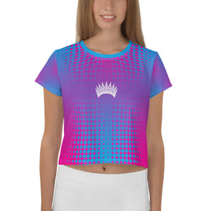 Miss Kentucky United States valentino unlimited Crop Tee