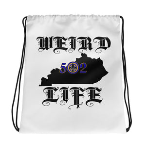 WEIRD LIFE 502 Drawstring bag - Valentino Unlimited