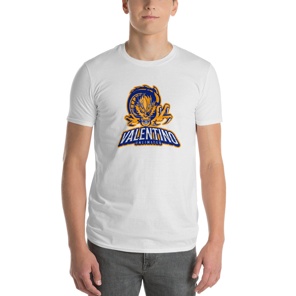 valentino unlimited Attack Dragon Short-Sleeve T-Shirt