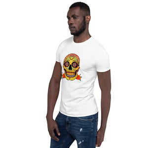 VALENTINO UNLIMITED Sugar Skull Short-Sleeve Unisex T-Shirt - Valentino Unlimited