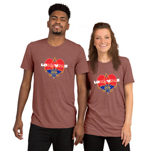 LOUISVILLE LOVE SuperSoft Premium Short Sleeve T-shirt - Valentino Unlimited