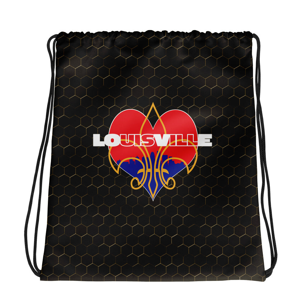 LOUISVILLE LOVE Drawstring bag