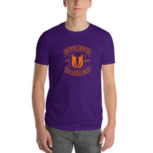 VU, Est 2007 Live Without Limits Orange Graphic Short-Sleeve T-Shirt - Valentino Unlimited