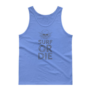 Surf or Die Skull Tank top