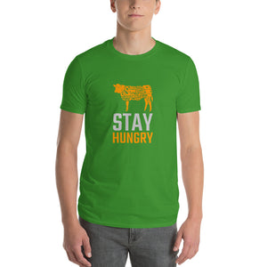 Stay Hungry Beef Cuts Short-Sleeve T-Shirt - Valentino Unlimited