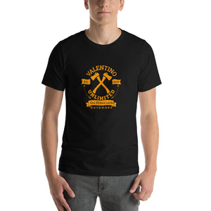 Round VUO Est 2007 Crossed Hatchets with Arrows Short-Sleeve T-Shirt (Set 1)