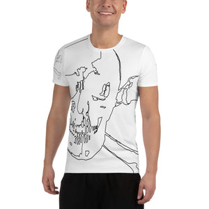 valentino unlimited Skull and Crossbones MaxDri Athletic Tee