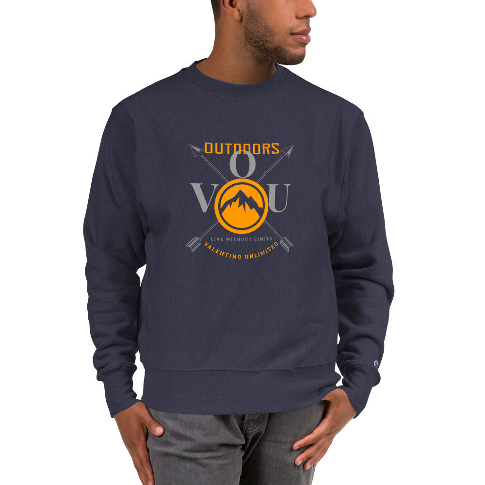VUO Circular Summit on Crossed Arrows Champion Sweatshirt