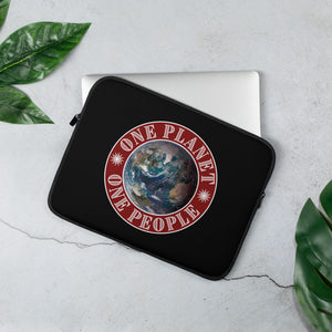 "One Planet One People, Valentino Unlimited Laptop Sleeve (13"" and 15"") - Valentino Unlimited"