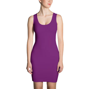 Purple - Sublimation Cut & Sew Dress