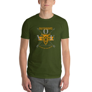 valentino unlimited Outdoors Stylized Buck Mount Short-Sleeve T-Shirt - Valentino Unlimited