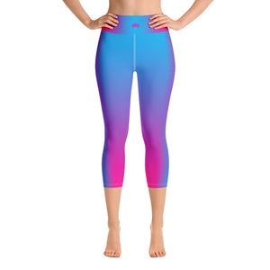 Miss Kentucky United States 2019 Exclusive Custom Yoga Capri Leggings - Valentino Unlimited