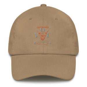 VUO Bull and Crossed Arrows Dad Hat - Valentino Unlimited