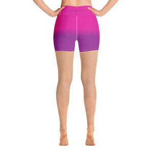 Ms Golden State Yoga Shorts - Valentino Unlimited