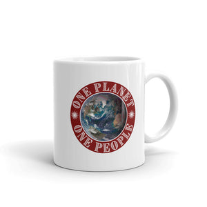 One Planet One People, Valentino Unlimited Ceramic Mug - 11 oz, 15 oz - Valentino Unlimited