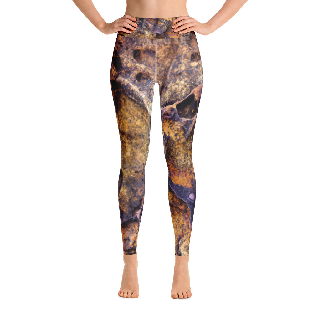 Lava Rock Yoga Leggings - Valentino Unlimited