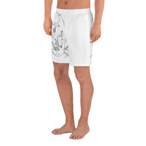 valentino unlimited Wireframe Skull Shorts