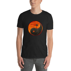 Sun Moon Yin Yang Short-Sleeve Unisex T-Shirt