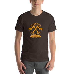 Round VUO Est 2007 Crossed Hatchets with Arrows Short-Sleeve T-Shirt (Set 1) - Valentino Unlimited