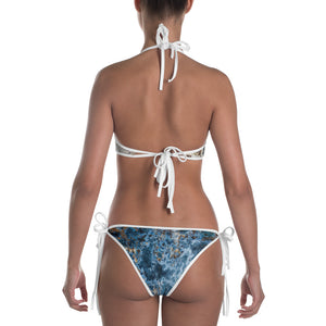 Cream Blue Rust Bikini - Valentino Unlimited