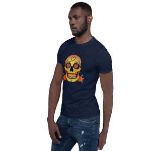 VALENTINO UNLIMITED Sugar Skull Short-Sleeve Unisex T-Shirt