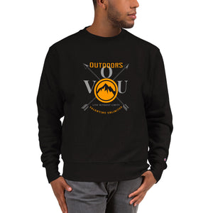 VUO Circular Summit on Crossed Arrows Champion Sweatshirt - Valentino Unlimited