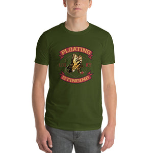 Floating Stinging Lou KY ButterBee Short-Sleeve T-Shirt - Valentino Unlimited