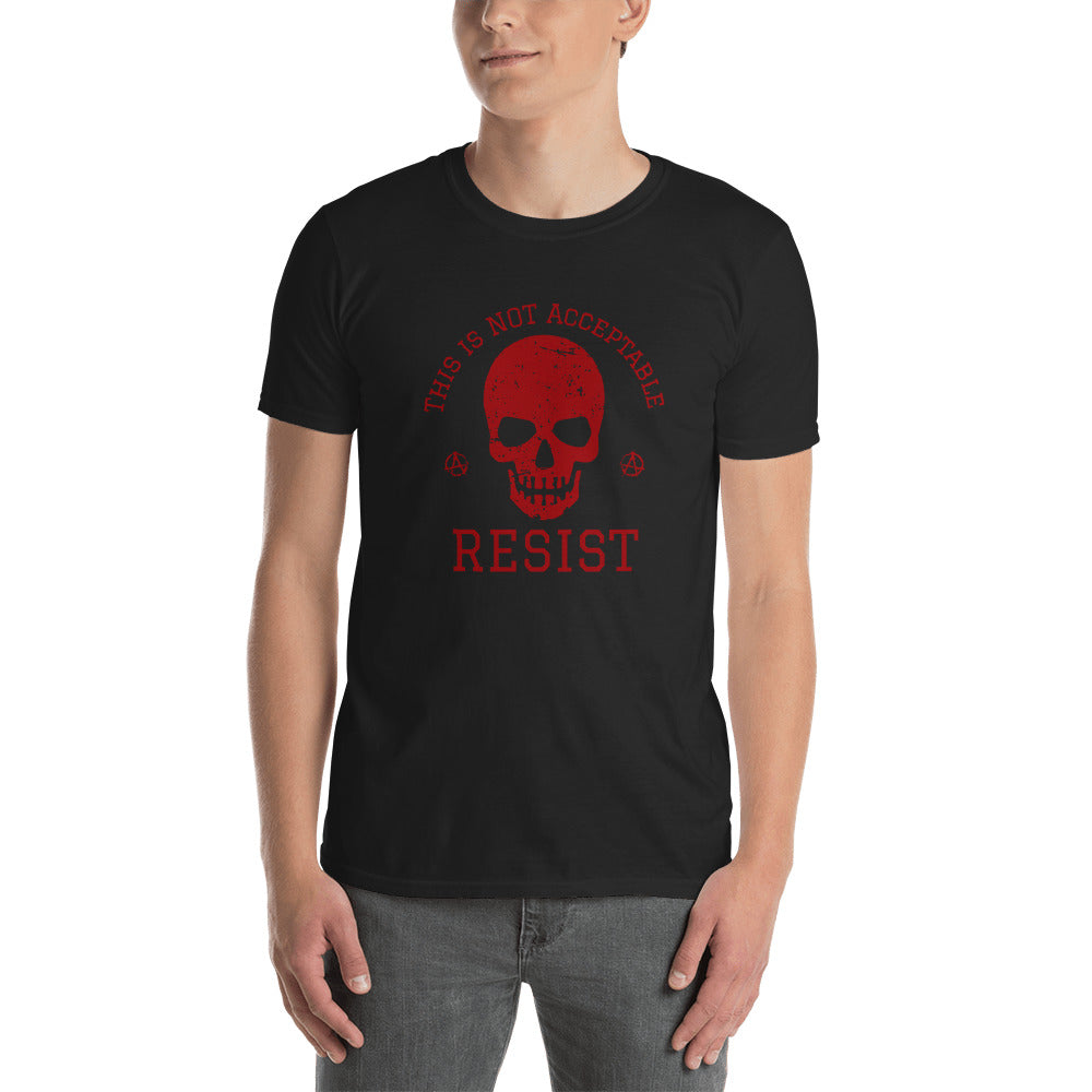 This Is Not Acceptable, Resist VALENTINO UNLIMITED Tee