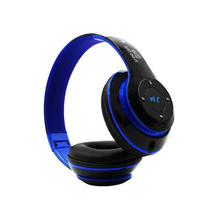 Wireless Bluetooth On-Ear Design Stereo Bass Foldable Headphones V4.0 - Valentino Unlimited