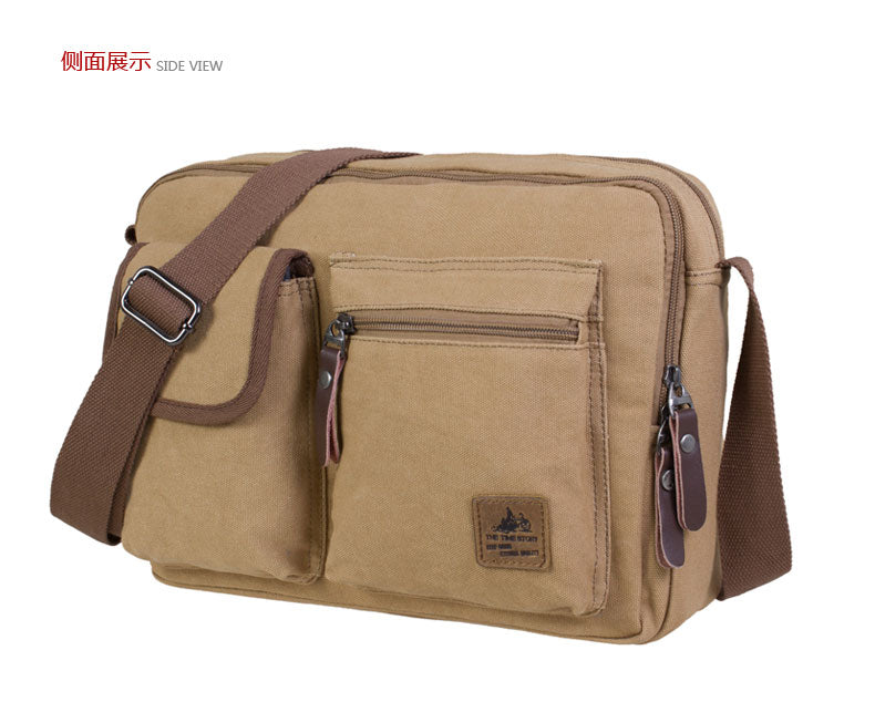 Women's Girl Vintage Canvas Caual School Bag Bookbag Satchel