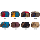 Vintage Canvas Shoulder Bag Handbag Messenger Sling School Bags Tool Bag (GY06)